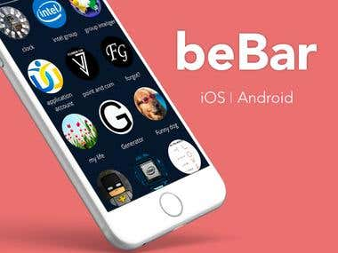 Bebar - Android and iOS apps