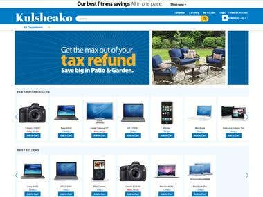 Multiple merchant eCommerce site