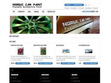 Nordic Car Paint eCommerce