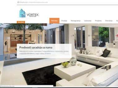 Vortex- real estate agency with a base in Bosnia