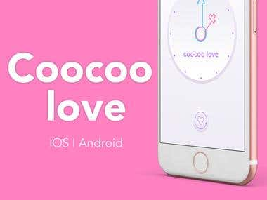 Coocoo love - Android and iOS apps