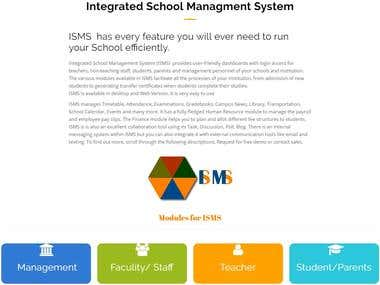 Integrated School Management System