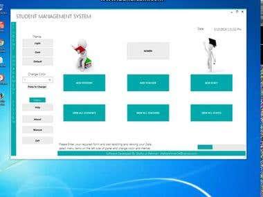 Advance Student Management system software