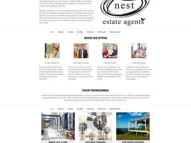 Website - Nest Estate Agents