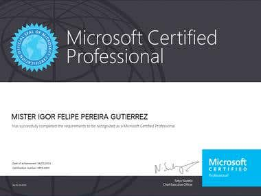Microsoft Certification - MCP