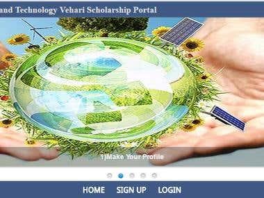 Online Scholarships Portal
