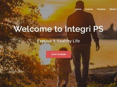 Integri PS Wordpress Website