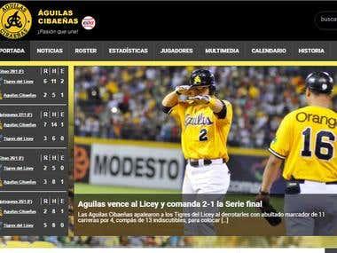 Águilas Cibaeñas website