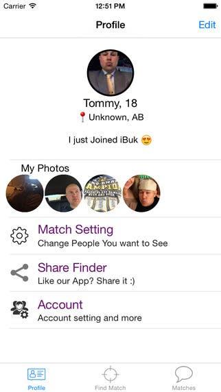 Social iOS App: MeetMe