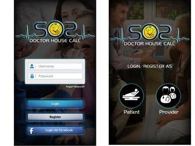Uber-like Doctor House Call App