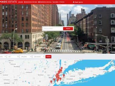Micro Management Estate - Real Estate Portal