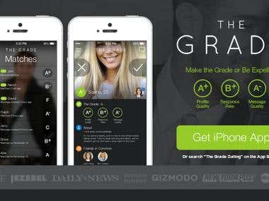 The Grade Dating App Android/IOS