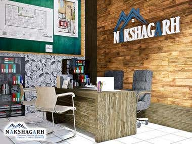 Office Interior Render