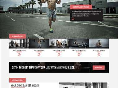 Website - fitcoach