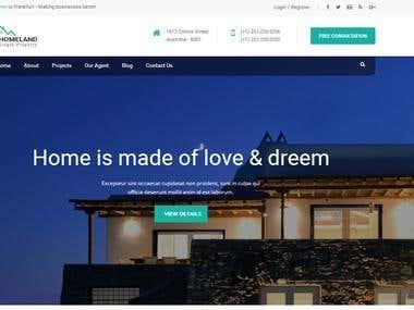Website For Real Estate Business