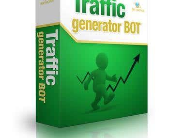Traffic generator bot