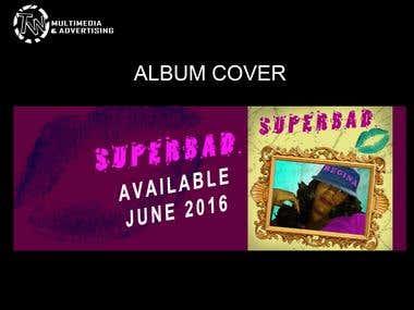 ALBUM COVER: SUPER BAD