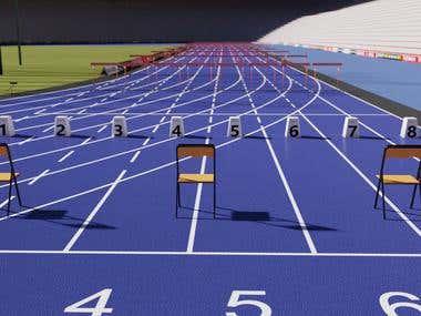 Unity 3D Athletics Game