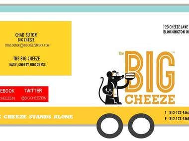 The Big Cheeze Business Card