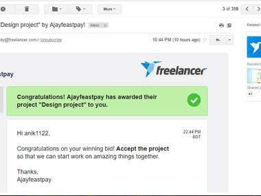 My Award in Freelancer