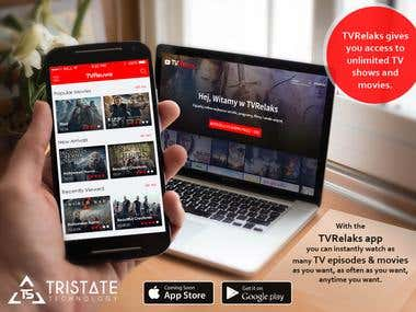 TVRelaks - Video Streaming Website