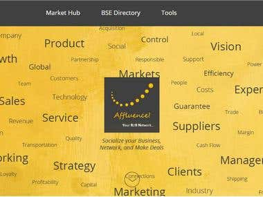 Affluence - affluenceb2b Website