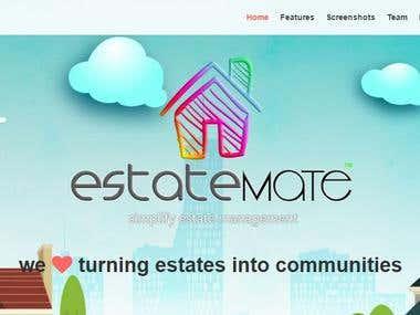EstateMate - Real Estate Service Website