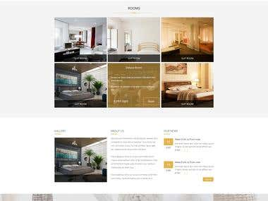Website Design (PSD, PSD to HTML, HTML,CSS, Bootstrap)