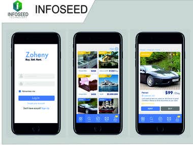 Zoheny - Classified App