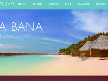 Website Development For A Travel Agency