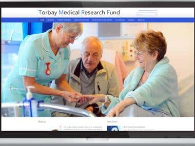Torbay Medical Research Fund Website