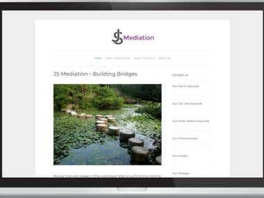 JS Mediation Website