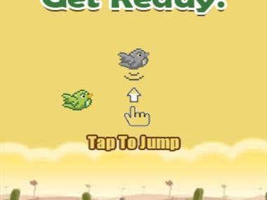 Jumping Birdie