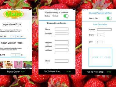 iEat Food Ordering App
