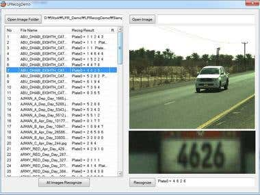 ALPR System (License Plate Recognition System