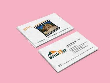 Business card design for BuildItUp
