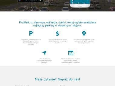 Strona Aplikacji FindPark