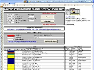 Excel Macro Specialist