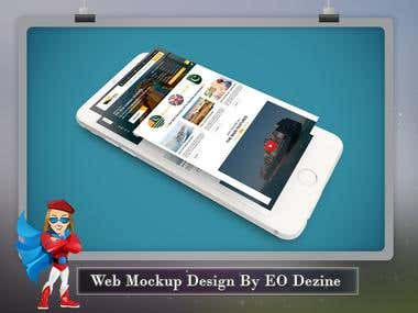 Website Muckup Design