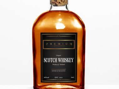 Label Design for Scottish Whiskey