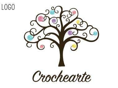 Diseño logo - crochearte