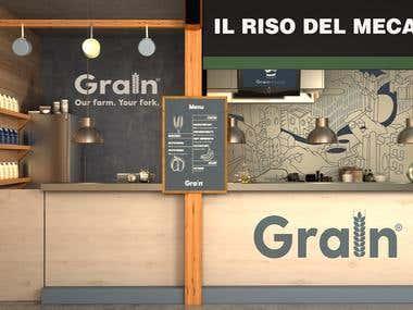 Organic Rice Store - Concept