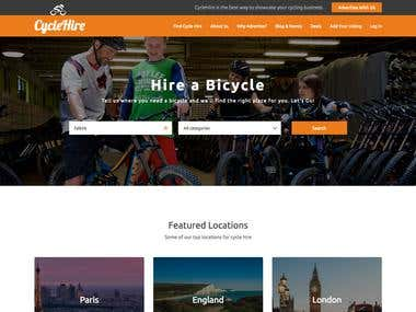 Cycle Hire Info