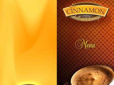 Cinnamon Lounge Menu