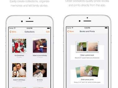iOS Family Album and Private Photo Sharing App