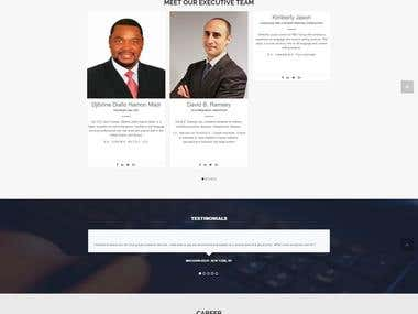 One Page Consulting Template