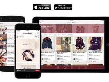 iOS & Android Buy & Sell Fashion App