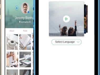 Yapxit - Social network mobile app