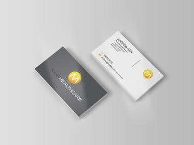 Business card design for Mobi Healthcare