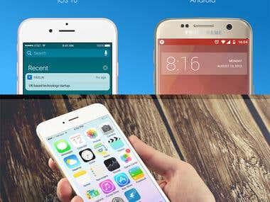 Freelin App Icon design
